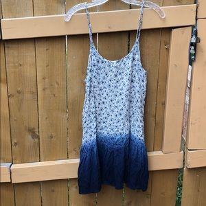 Blu Pepper Ombré Mini Floral Dress